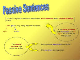 Passive form of simple past tense